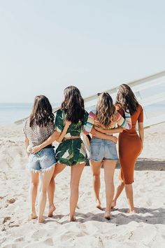 Grab your girls and celebrate #GalentinesDay with beachy blowouts.