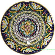 Ceramic Majolica Plate 42cm