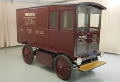 "I guess it really is ""Back To The Future""! A 1909 Electric delivery van!?"