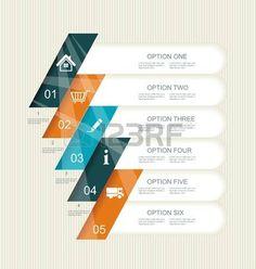 現代ステップ オプションのバナー。ワークフローのレイアウト、図、番号のオプションを使用することができます、ステップ アップのオプション、web…
