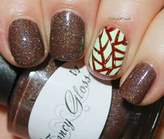 """D is for Fancy Gloss """"Dark Chocolate (holo)"""""""
