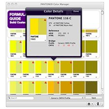 PANTONE COLOR MANAGER Software. 1000's of colours!
