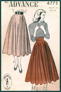 Advance Vintage Sewing Patterns Advance Skirts Circle Skirts Co. - Advance Vintage Sewing Patterns Advance Skirts Circle Skirts Contour Belt Source by lisbethlacht - Couture Vintage, Vintage Fashion 1950s, Vintage Mode, Moda Vintage, Retro Fashion, 1940s Fashion Women, Womens Fashion, Fashion Fashion, Trendy Fashion