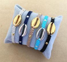 Natural Cowrie Shell Boho Crystal Bracelet - Summer Bracelet, Sea Shell bracelet, Crystal Bracelet, Friendship Bracelet, Gift for her Beach Bracelets, Summer Bracelets, Dainty Bracelets, Macrame Bracelets, Crystal Bracelets, Handmade Bracelets, Crystal Beads, Handmade Jewelry, Beaded Bracelet