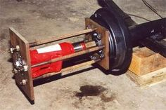 Bob Harris' hub puller to remove the rear axles. Lots of ideas here for other potential uses.