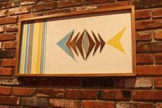 Mid Century / Danish Modern WITCO Styled Tiki Fish Wall Art ...