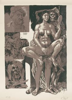 willi sitte akt -  keywords: Neo Rauch, East German art sources, socialist realism