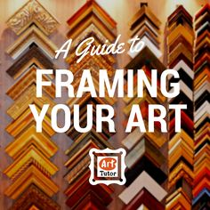 d8d3fce6a19 A comprehensive guide for choosing the right frame for your drawings and  paintings Oil Painters