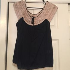 Lucky brand tee Gently worn lucky brand t shirt! Great for summer :) Lucky Brand Tops Blouses