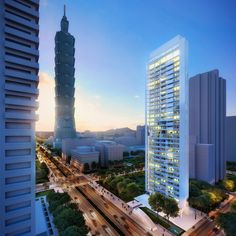 richard meier unveils plans for a residential tower in taipei