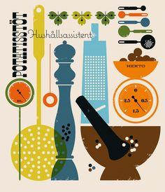 Bo Lundberg Illustration cookbook