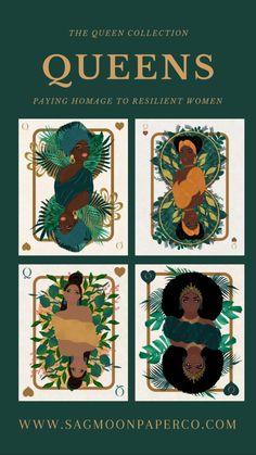 Illustration Artists, Digital Illustration, Graphic Illustration, Black Art Painting, Black Artwork, Contemporary Wall Art, Black Artists, Black Women Art, Card Games