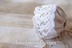 newborn baby lace bonnets - Google Search