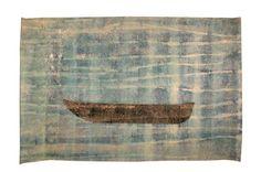 Herman Tacasey Quando descobri que vim pelo mar ínicio  275x183mXilogravura sobre tecido 2009  2009
