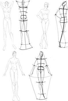 Wistaria: Учимся рисовать fashion-эскиз. Урок 12. Модельные позы