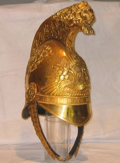 1834 pattern officer's Heavy Cavalry helmet to the 6th Dragoons or Inniskilling regiment