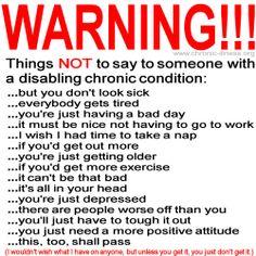 panic attacks/social anxiety, auto-immune disease, Pernicious Anemia, fibromyalgia, diabetes, depression.  #getinformedgetaclue