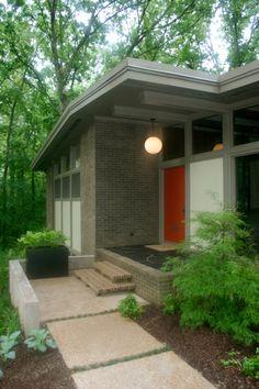140 Best Mid Century Modern Ranch Exterior Images On Pinterest Mid Century House Mid