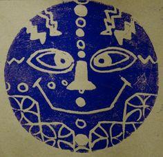 African Printmaking Masks   Artfueled