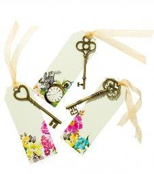 Geschenkanhänger mit Schlüsseln
