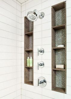 You may choose your one walk in shower ideas based on your wishes. The walk in shower ideas without door will produce the bathroom appear more spacious. At this time you can construct an easy walk in shower bench. You… Continue Reading → Small Shower Remodel, Small Bathroom With Shower, Small Showers, Walk In Shower, Master Bathroom, Small Bathrooms, Shower Bathroom, Bathroom Ideas, Neutral Bathroom