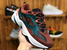 factory price 8b9c6 dede6 Mens Nike M2K Tekno Pueblo Brown Black Rainforest AV4789-200 Sneakers  Online Store-2