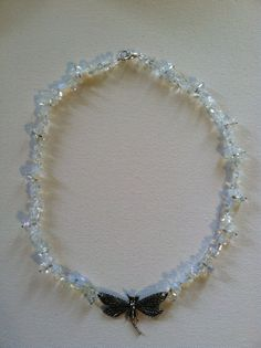 Reiki Moonstone Healing Necklace by AngelTouchReiki on Etsy, $35.00