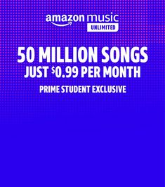 Amazon.com: Amazon Music Unlimited for Students Fitbit Charge, Most Popular Artists, 50 Million, Money Saving Tips, Songs, Amazon, Music, Students, Tech