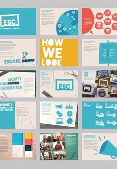 brochures with trendy design layout brochures - Brochure Design Identity Design, Logo Design, Design Poster, Identity Branding, Charity Branding, Corporate Branding, Layout Design, Design De Configuration, Booklet Design Layout