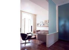 Glass partition -- Jonathan Clark Architects : London W9