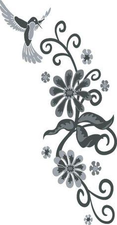 humming bird #tattoo - http://www.freetattooideas.net/hummingbird-tattoos/