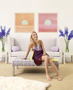Gwyneth Paltrow's Feminine Hamptons Home
