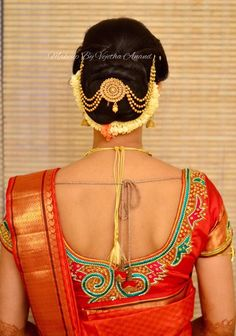 20 Indian Bridal Bun Hairstyle to try for your wedding – Wedandbeyond – Bun Hairstyles Easy Bun Hairstyles, Roll Hairstyle, Perfect Bun, Bridal Hair Buns, Antique Jewellery Designs, Hair Puff, Indian Wedding Hairstyles, Hair Ornaments, Hair Jewelry