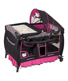 Look what I found on #zulily! Hello Kitty Deluxe Nursery Center by Baby Trend #zulilyfinds