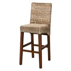 Seagrass barstool at Target -counter stool height- will definitely have this for my island