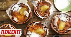 Ahvenanmaan pannukakku on monen mielestä maailman paras pannari. Pannarin juju on erityisissä ainesosassa Pretzel Bites, Baked Potato, Food And Drink, Bread, Baking, Fruit, Ethnic Recipes, Koti, Bakken