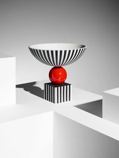 Wedgwood by Lee Broom, Bowl On Red Sphere. Photo by Michael Bodiam.