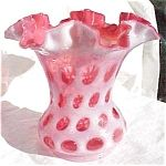 fenton cranberry glass
