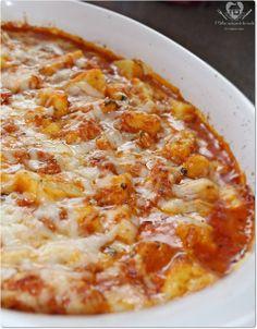 Nhoque de batata com molho de tomate caseiro