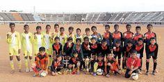 Coimbatore football champions   வெற்றிக்கு வித்திட்ட 10 மடங்கு மனபலம்!   சுட்டி விகடன் - 2015-07-15