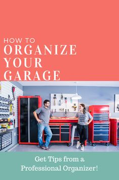 An organized garage