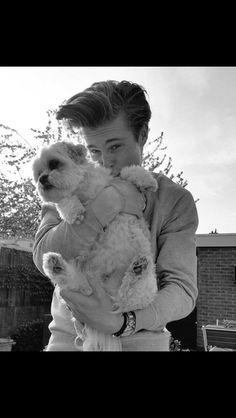 Kaj en zijn hond?