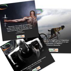 Postagens de interação para a Academia Mais Vida! #Fitness #Academia #Saúde