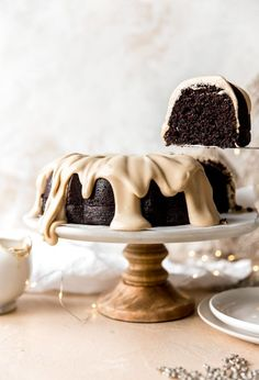 Chocolate Espresso Bundt Cake combines two of my most favorite things: chocolate and coffee! A rich chocolate cake batt. Chocolate Bundt Cake, Chocolate Flavors, Espresso Chocolate Cake, Espresso Cake Recipe, Espresso Dessert, Chocolate Food, Chocolate Chocolate, Chocolate Recipes, Baking Recipes