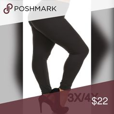 💖💖Leggings💖💖 High-waisted solid full length leggings with a banded waist. Micro-fiber material fabric with very good stretch. 92% polyester 8% spandex Pants Leggings