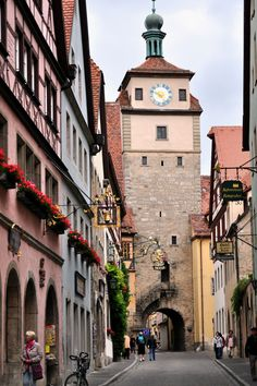 The White Tower | Flickr - Photo Sharing! - Rothenburg ob der Tauber is one of my favorite cities.  I'd love to go back.