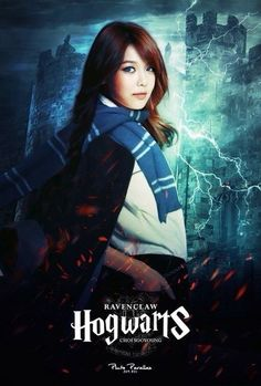 Sone PS SNSD members with Hogwarts uniform SNSD-Sooyoung