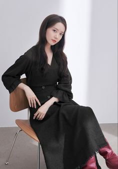 Im Yoon Ah, Yoona Snsd, Female Actresses, Girls Generation, Dress Outfits, Dresses, Asian Woman, Korean Girl, Asian Beauty