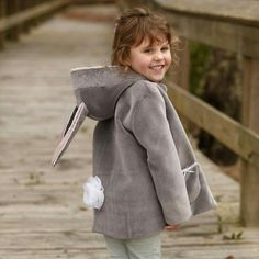 Wild things (ajouts) for pixie pea coat - Twig and tale