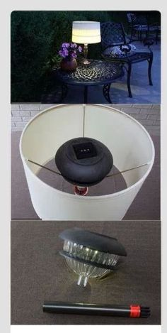 Create an outdoor lamp - no instructions, only the photo but I think it would be easy enough